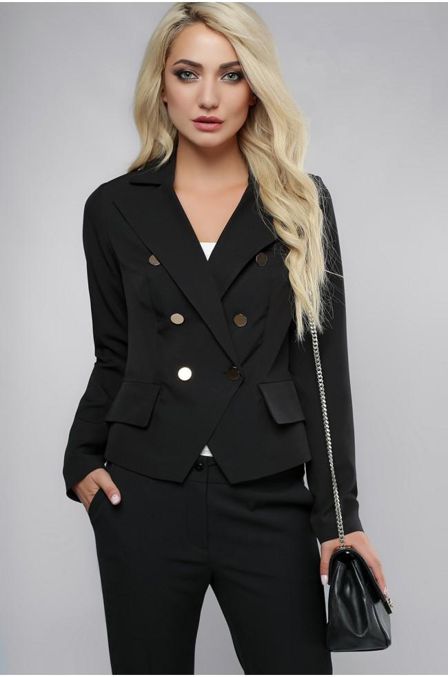 Піджак з ґудзиками Чорний