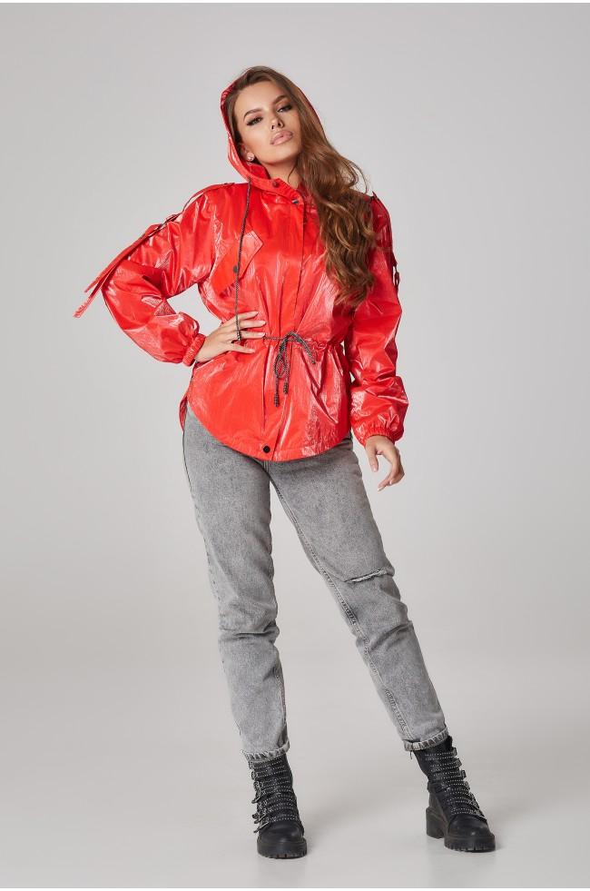 Куртка-вітровка на кулісі Червона Батал