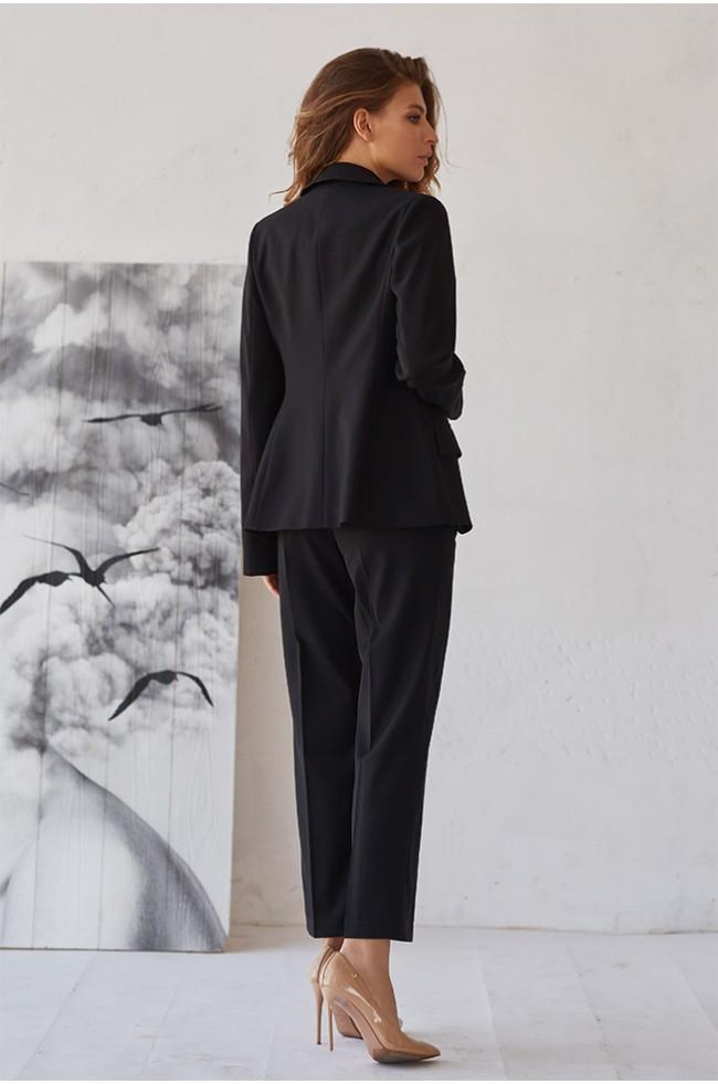 Піджак приталений класика Чорний