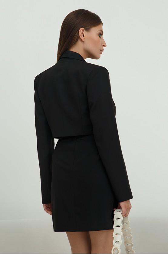 Піджак укорочений Чорний
