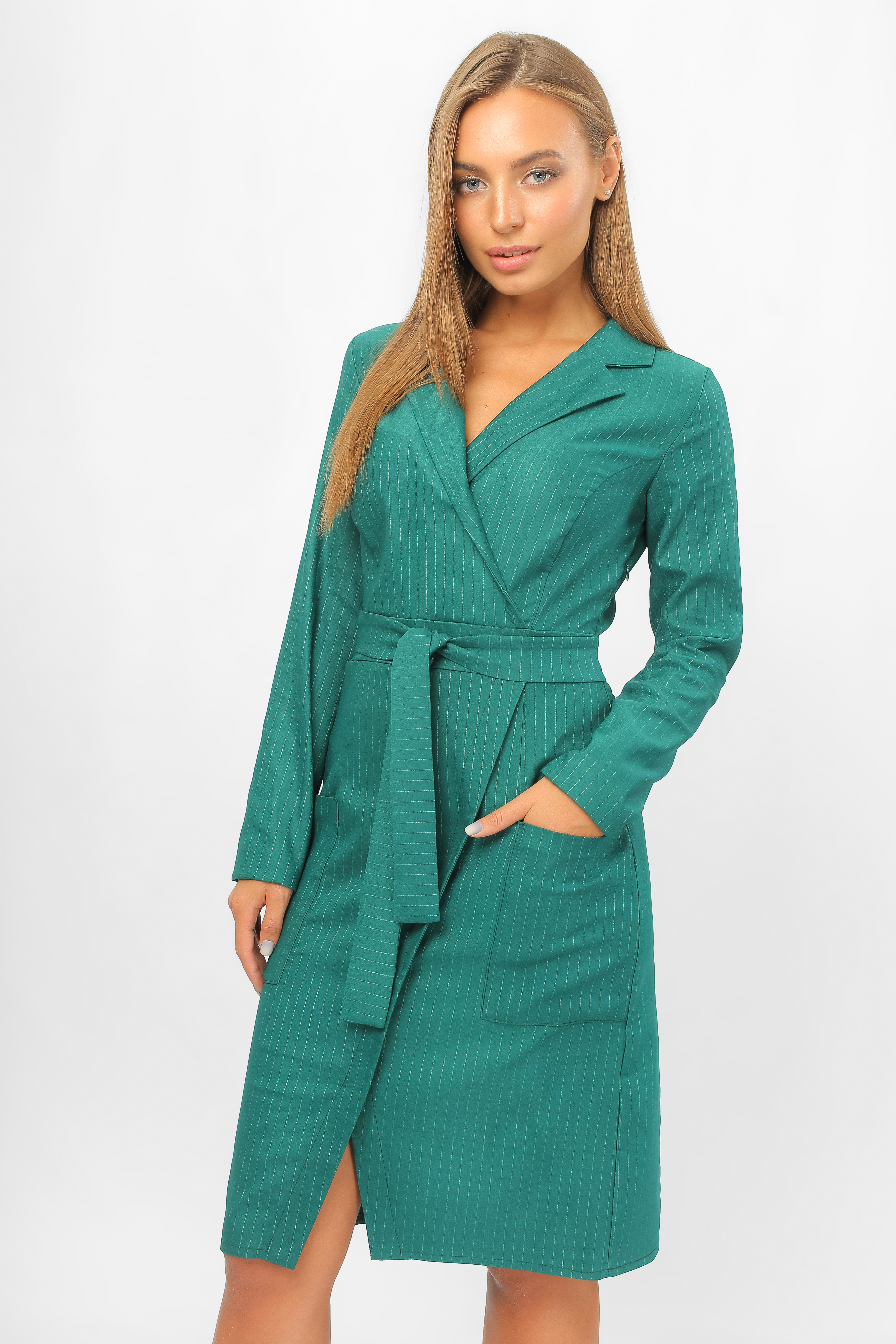 Сукня на запах Зелена Lipar