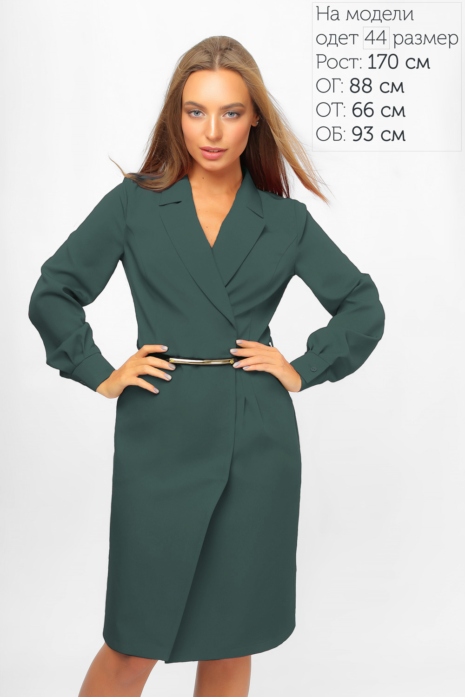 Сукня-піджак Зелена Lipar
