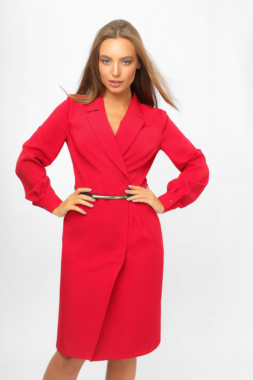 Сукня-піджак Червона Lipar