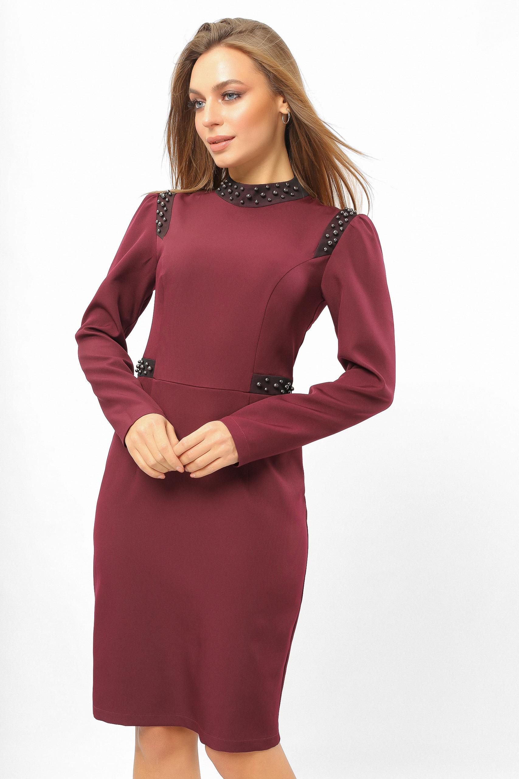 Сукня з намистинами Марсала Lipar
