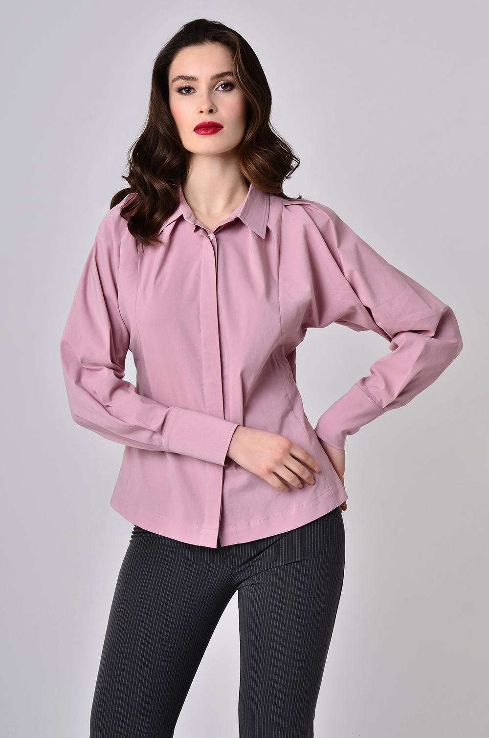 Блуза з декоративним драпіруванням Фрез Lipar