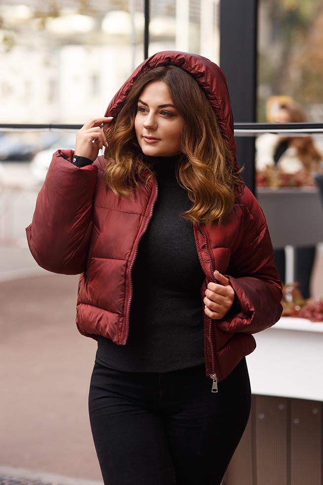 Куртка оверсайз Марсала Lipar