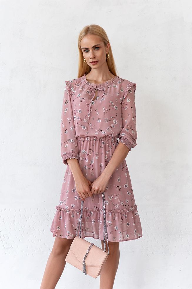 Сукня з шифону Фрез Lipar