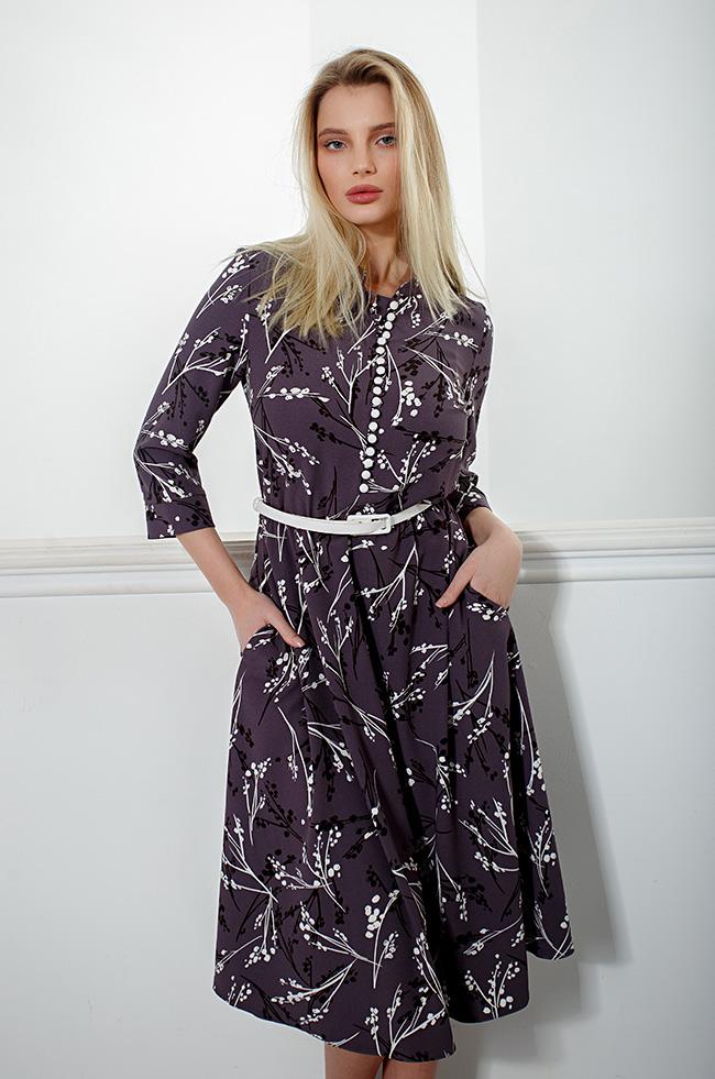 Платье приталенное Бузок 3415 Lipar